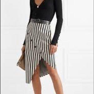 ALTUZARRA Paul Bert button-embellished  skirt